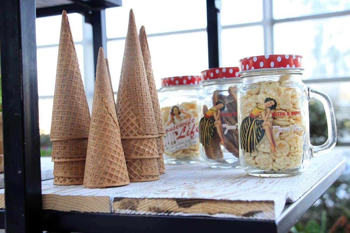 גלידה ותוספות