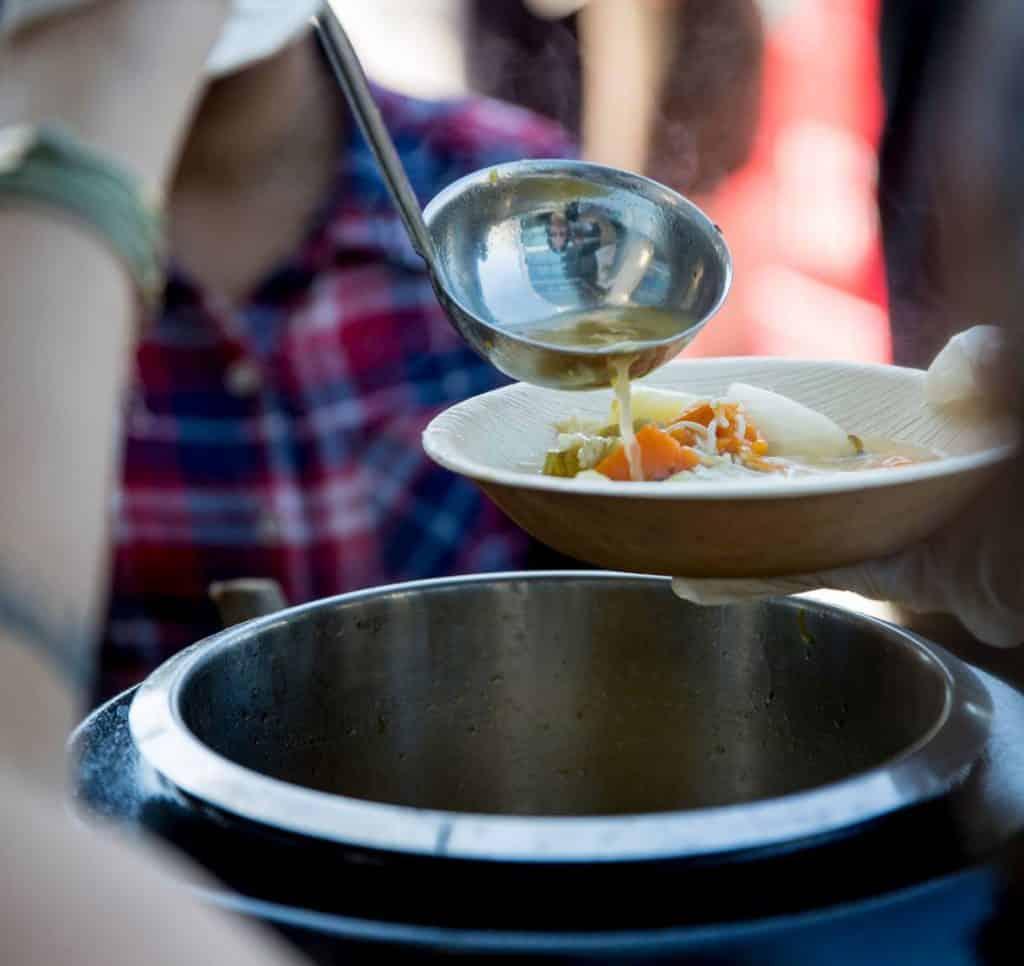 דוכני מזון מרקים